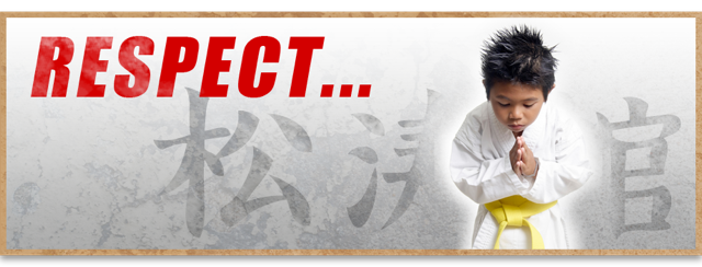 Respect is not a part of Martial Arts - It's what makes the Martial Arts so unique.